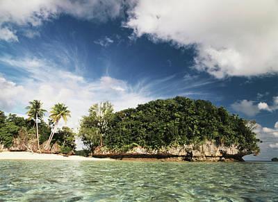 Palau, Micronesia, View Of Honeymoon Art Print