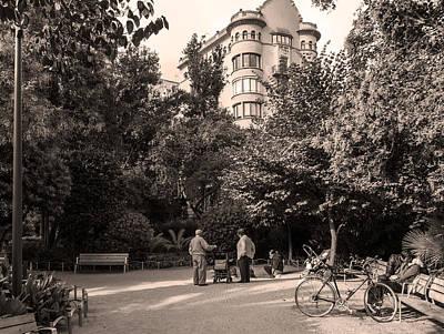 Photograph - Palau Robert Garden, Barcelona by Stefano Buonamici