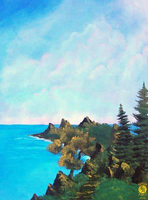Palawan Art Print by Richard Bantigue