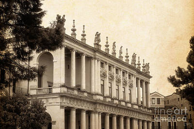 Photograph - Palazzo Chiericati by Prints of Italy