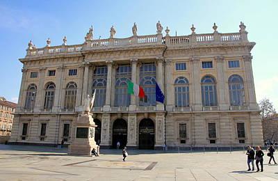 Palazzo Madama In Turin Art Print