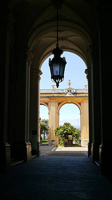 Photograph - Palazzo Reale Arch To Arch by Herb Paynter