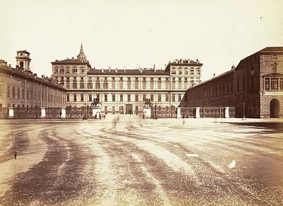 Palazzo Reale In Turin, Italy, Anonymous Art Print by Artokoloro