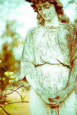 Religious Art Photograph - Pale Angel by Sonja Quintero
