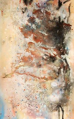 Pale Explosion Art Print