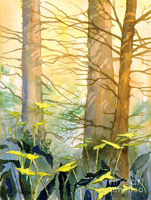 Painting - Pale Forest by Teresa Ascone