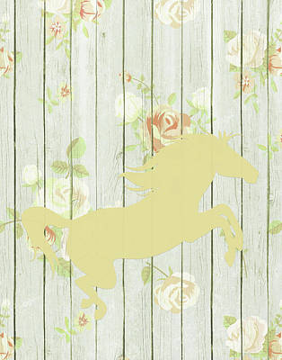 Horse Pastels Painting - Pale Yellow Horse by Tara Moss