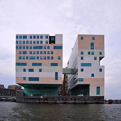 Photograph - Paleis Van Justitia Amsterdam by Jouko Lehto