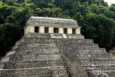 Photograph - Palenque Mayan Ruins 11 by Rachel Munoz Striggow