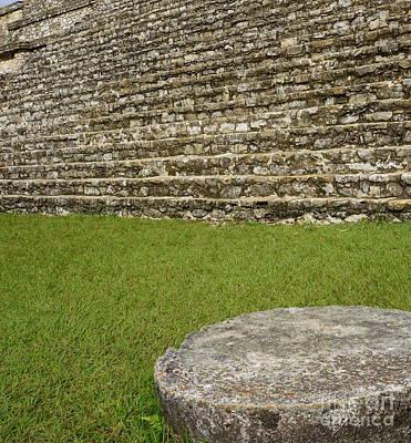 Photograph - Palenque Mayan Ruins 12 by Rachel Munoz Striggow