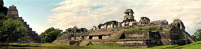 Photograph - Palenque Panorama Unframed by Weston Westmoreland