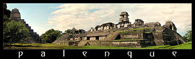 Photograph - Palenque Panorama by Weston Westmoreland