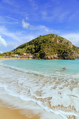 Photograph - Paleokastritsa Beach by Paul Cowan
