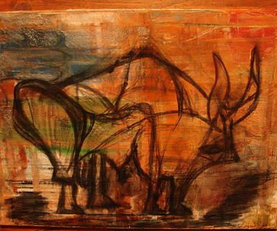 Paleolithic #1 Original by Michael Kovacs