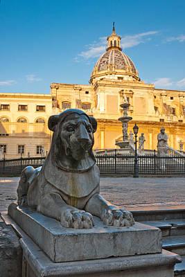 Photograph - Palermo City by Gurgen Bakhshetsyan