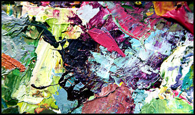 Painting - Palette Abstraction #12 by John Lautermilch