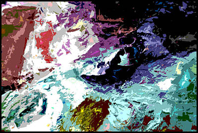 Painting - Palette Abstraction #14 by John Lautermilch
