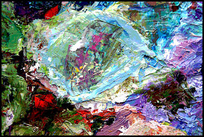 Painting - Palette Abstraction #16 by John Lautermilch