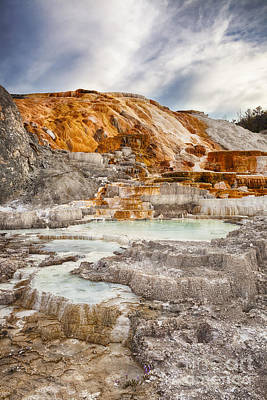 Photograph - Palette Spring In Yellowstone by Bryan Mullennix