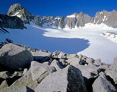 Photograph - 2m6450-palisade Glacier, Ca by Ed  Cooper Photography