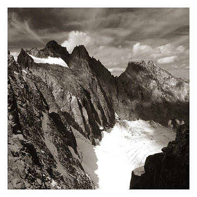 Eastern Accents Photograph - Palisades Glacier by Jeff Leland