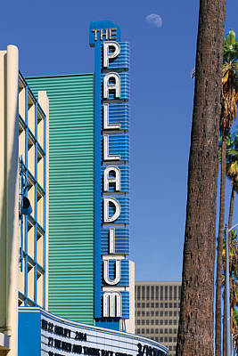 Hollywood Palladium Photograph - Palladium Sign by Bill Jonas