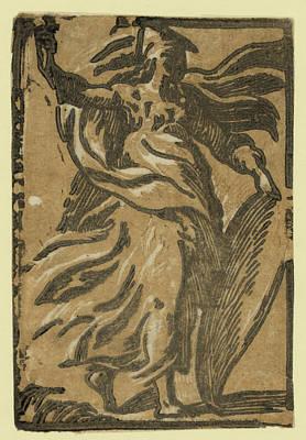 Pallas, Between 1530 And 1550 Art Print