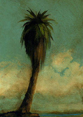 Mayfield Painting - Palm 5 by Mickey Mayfield