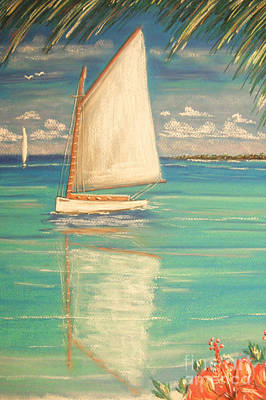 Painting - Palm Bay by The Beach  Dreamer