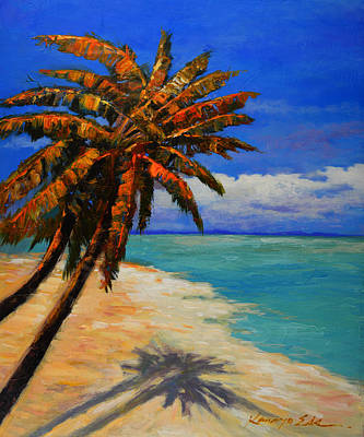 Painting - Palm Beach by Kanayo Ede