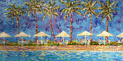 Painting - Palm Beach Life by Audrey Peaty