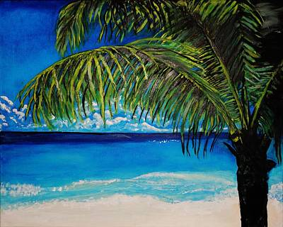 Painting - Palm Beach by Michael Henzel