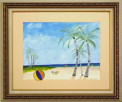 Painting - Palm Beach by Ron Davidson