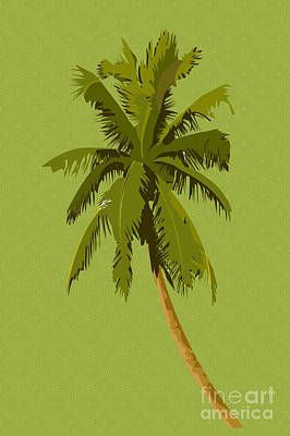 Palm Breeze Art Print by Tina M Wenger