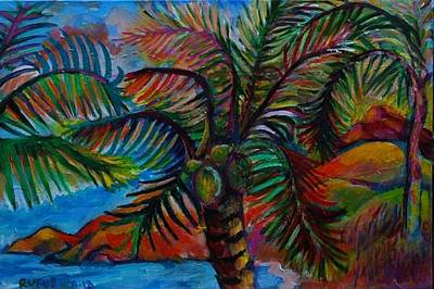 Painting - Palm Canopy by Rufus Norman