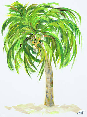 Palm Mixed Media - Palm Days IIi by Julie Derice