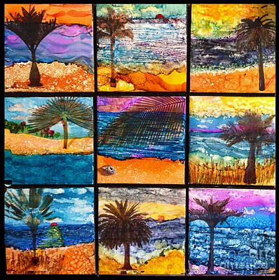 Painting - Palm Dreams by Alene Sirott-Cope