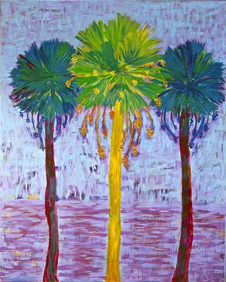 Painting - Palm Fan by Dennis Goodbee