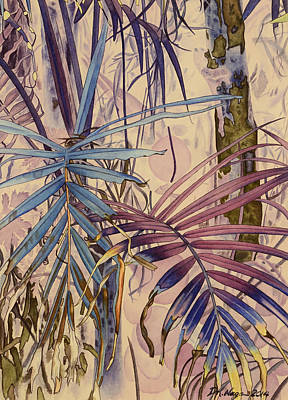 Painting - Palm Forest by DK Nagano
