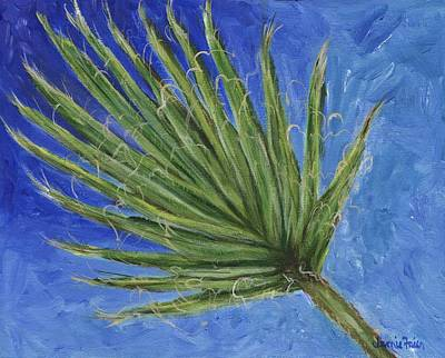 Painting - Palm Frond by Jamie Frier