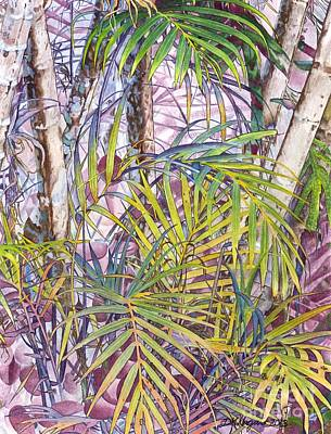 Painting - Palm Grove by DK Nagano