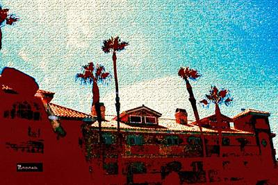 Photograph - Palm Hacienda by Sadie Reneau
