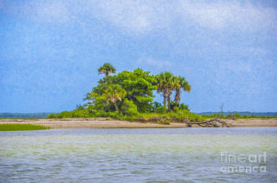 Photograph - Palm Island Paradise by Dale Powell