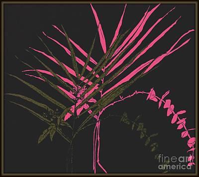Palm Sprigs Mod Art Print