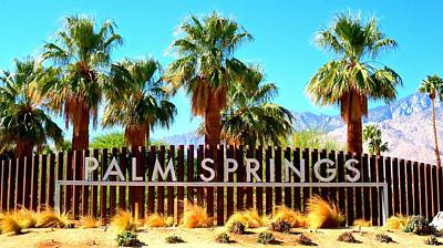 Palm Springs 1 Art Print