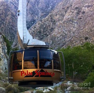 Photograph - Palm Springs Aerial Tram  by Susan Garren