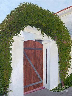 Palm Springs Archway Original by Jane Frendberg