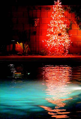 Photograph - Palm Springs Christmas by Randall Weidner