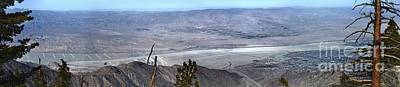 Photograph - Palm Springs Panoramic View - 02 by Gregory Dyer