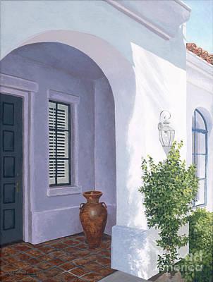 Palm Springs Retreat Original by Jane Frendberg